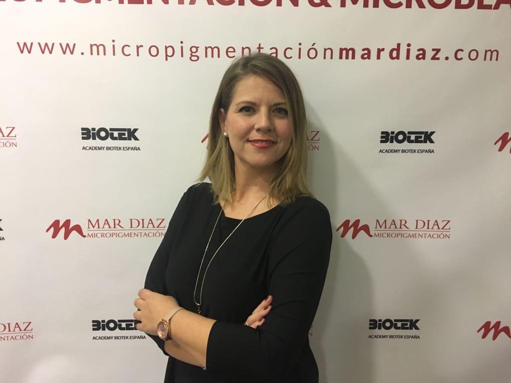 Mónica Soriano : Técnico especialista y docente de micropigmentación