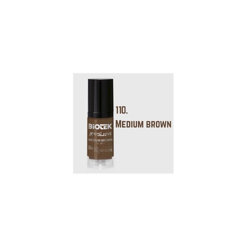 Biotek Microblading 110 Medium Brown